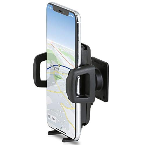 Wicked Chili Universal Armaturenbrett Halterung kompatibel mit Apple iPhone 11 Pro Max, 11, XS Max, XR, 8+, 7+, Samsung Galaxy Note 10+, S10+, S9+ und Plus Smartphones ab 6 Zoll (max Breite 86 mm)