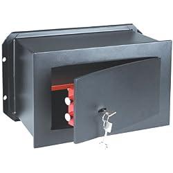MAURER Cassaforte a muro porta anteriore 8 mm 31x21x15 cm