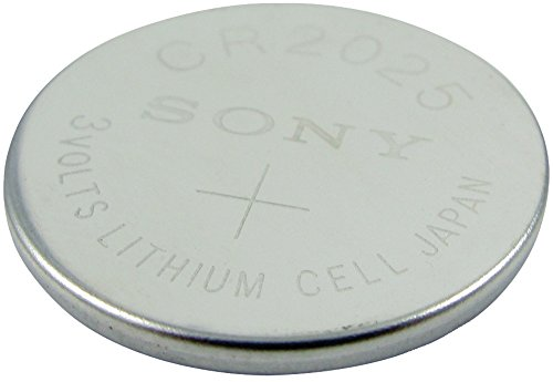 3-Volt Lithium Coin Battery (CR2025) Case Pack 12