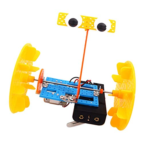 SM SunniMix Kleine Elektronik Experimente Wissenspiele Wissenschaftliches Spielzeug Lernspiele - Selbstausgleich Roboter Kit 2