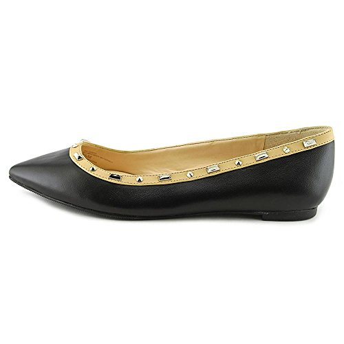 INC International Concepts Zabbie Femmes Synthétique Chaussure Plate Black-Nude