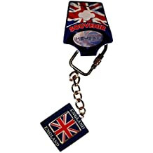My London Souvenirs Unión Jack Metal Spinner Londres Inglaterra Souvenir Llavero