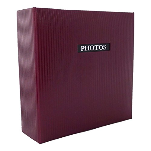 Dorr Eleganz Fotoalbum Einsteckalbum für 200Fotos, rot, 6X 4-Zoll