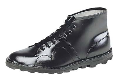 The Original Monkey Boot, Retro Style BLACK Leather UK size 3
