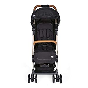 Chicco Miinimo2 Buggy, ultrakompakt, leicht, 6 kg, Schwarz (Pure Black Special Edition)