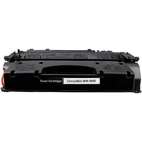 Compatible HP 05A 505A CE505A cartuccia toner compatible laser per Laserjet P-2033, P-2033-D, P-2033-N, P-2034 P-2034-D, P-2034-N, P-2035, P-2035-D, P-2035-N, P-2036, P-2036-D, P-2036-N, P-2037, P-2037-D, P-2037-N, P-2050, P-2053, P-2053-D, P-2053-N, P-2054, P-2054D, P-2054-N, P-2055, P-2055-D, P-2055-DN, P-2055-X, P-2056, P-2056-D, P-2056-N, P-2057, P-2057-D, P-2057-N Cassetta di stampa compatible nero © Cartuccia Land