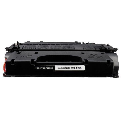 Compatible HP 05X 505X CE505X XL Cartucho Toner Compatible para Laserjet P-2055-D, P-2055-DN, P-2056, P-2056-D, P-2057-N, P-2054-D, P-2053-D, P-2055, P-2057, P-2057-D P-2054, P-2055-X toner tinta laser impresora impressora  123 Cartucho