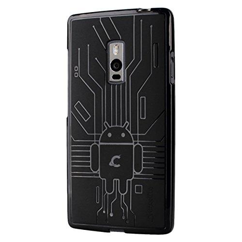 CruzerLite Bugdroid Schlussfall für OnePlus Two schwarz