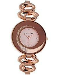 Giordano Analog Rose Gold Dial Women's Watch-C2203-11