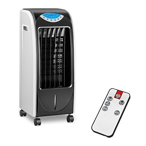 Uniprodo Raffrescatore ad Acqua Rinfrescatore Portatile UNI_COOLER_02 (3 in 1, 6 L, 1-12 h timer, Plastica PS e ABS)