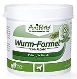 AniForte Wurm-Formel 100 g für Hunde, Einmalgabe und 100 Prozent natürlich, Bei und nach Wurmbefall