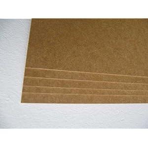 MDF Platte für Wohnmobil Innenausbau 2,5mm stark, unbeschichtet 0,6x1m (3 Stk.)