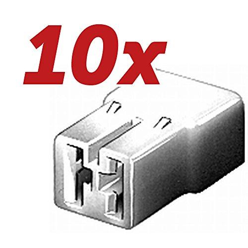 Preisvergleich Produktbild 10x HELLA Original Steckgehäuse 8JD 008 151-011