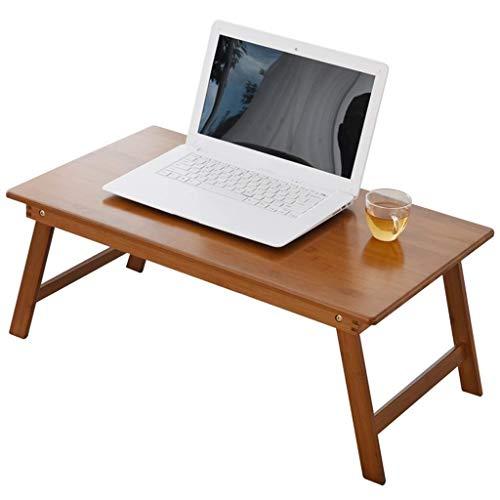 YFQ Laptop Schreibtisch Schreibtisch Lazy Desk Home Desk Workbench Student Lesetisch Tragbarer Spieltisch Picknicktisch (Size : 60×40×25CM) -