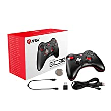 MSI Force GC30 Gamepad, PC Konsol, Android (4.1 ve Ustu) Uyumlu, Cift Titresim Motorlu, USB 2.0 Baglantili