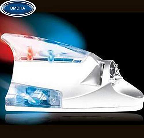 BMDHA Auto Rücklicht Dekorative Lichter Kollision der Verteidigung Auto-Antennenlicht, Windenergie Automatischer Glanz,Red