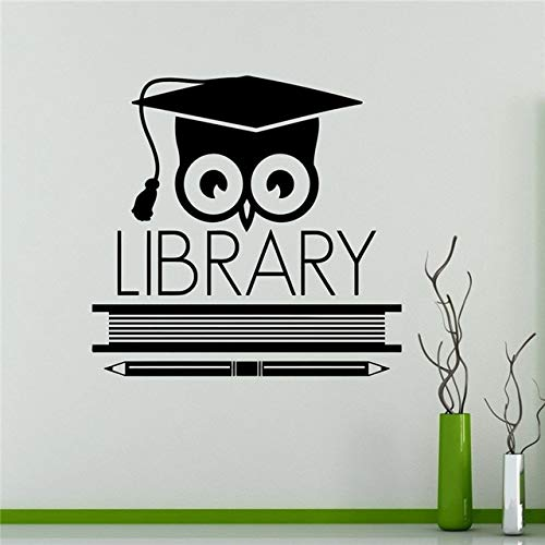 Zoom IMG-3 guijiumai libri biblioteca gufo adesivo