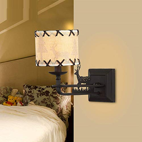 Solar-licht-spalte (Die kleine Spalte Wandleuchte Lounge Studie hat Schutz der Augen Wandleuchten Kinderzimmer Schlafzimmer Nachttischlampe E14 V 100-220 (Farbe : -, Größe : -))