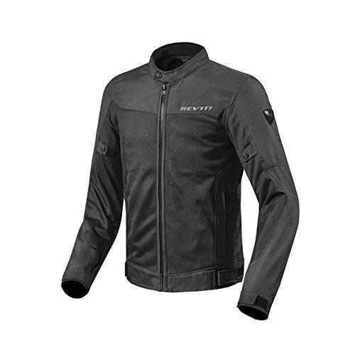 Motorrad Textiljacke Touring - schwarz ()