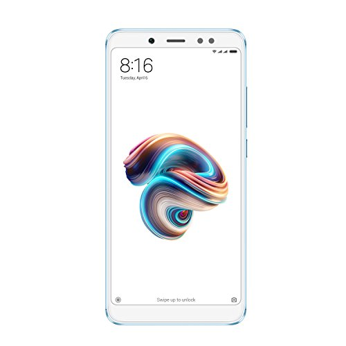 "Xiaomi Redmi Note 5 - Smartphone 5.99"" (Snapdragon Octa-core 636, internal memory 32 GB, 3 GB RAM, camera of 13 MP, Android) blue [Spanish version]"