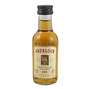 Aberlour 10 year old Single Malt Whisky 5cl Miniature by Aberlour
