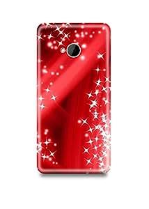 Red Sparkle HTC M7 Case