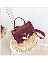 fac356acef3 XUZISHAN Mesdames Bag Lock Place Sac À Main Soft Pure Cuir Messenger Bag  Fashion Bandoulière