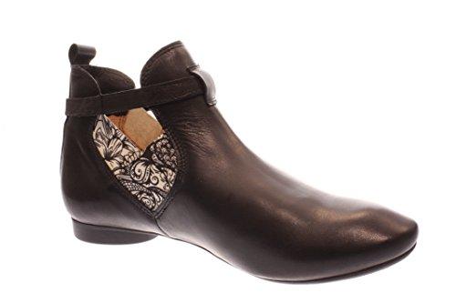 Think Guad Ankle Damen Chelsea Boots Schwarz Kombi