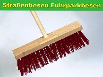 Besen Strassenbesen Fuhrparkbesen mit Stielloch Bauernlob 32 cm