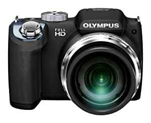 Olympus SP-720UZ Digitalkamera (14 Megapixel, 26-fach opt. Zoom, 7,6 cm (3 Zoll) Display, bildstabilisiert) schwarz