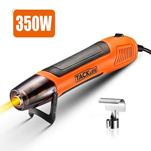 Mini Heißluftpistole 350W, Tacklife 300L/Min Tragbare Heißluftfön Mini Shrink Heat Tool für DIY Werkzeug Clay Works HGP35AC