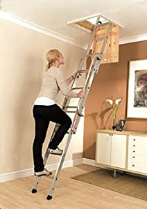Youngman 313340 Easiway Aluminium 3-Section Loft Ladder