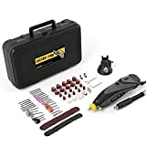 Rotary Tool Kit, Detlev Pro Rotary Multi Tool with Flex Shaft and 100