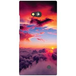 Nokia Lumia 730 Back Cover - Rainbow Designer Cases