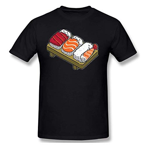 Japana Sushi Herren Hip Hop Rundhals Kurzarm T-Shirt 6XL -