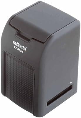 Reflecta x7-Scan - Escáner de negativos y diapositivas (3200 x 3200 DPI, USB 2.0), negro