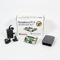 Melopero Raspberry Pi 3 Model B+ Official Essentials Kit BLACK