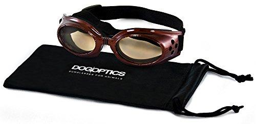 """Dogoptics Sonnenbrille """"Ibiza, braunes Gestelle, braune Linse, Größe S, 05"""