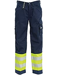 "Tranemo 4828–44–94–40Tamaño 40""ce-me pantalones–Amarillo/Azul marino"