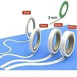 VEDA Ruban Masque Recharge Lot de 5 F. les courbes, 3 mm/5 mm/8 mm/10 mm Outils Accessoires Modélisme Hobbie