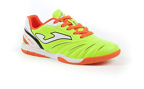 JOMA CALCETTO TOLEDO JR 611 FLUOR-ORANGE INDOOR 36
