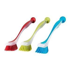 Fdit Mini Supporto per spazzolino a Parete aspirante con Ventosa autoadesiva fissato al Muro 5 Set di spazzolini con Coperchio