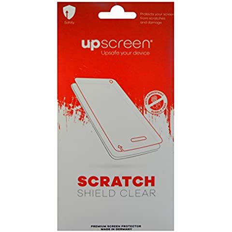 upscreen SCRATCH SHIELD CLEAR Pellicola di protezione per Suunto Vector Khaki, Multitouch ottimizzato, Anti-Impronte e Antimacchia, Elevata trasparenza