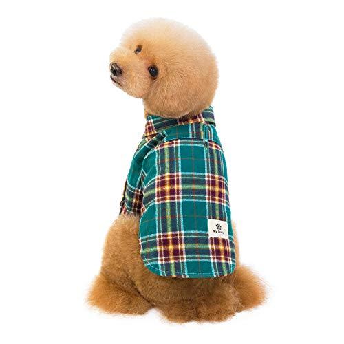 MYYXGS Hundebekleidung Hemd Haustierkleidung Baumwolle Haustierkleidung Teddy Hundebekleidung Hundebekleidung L (50's Diner Kostüm Mädchen)