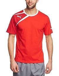 Puma T-Shirt Spirit Tee - Camiseta de equipación de fútbol para hombre, color