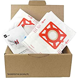 Lot de 10 sacs de haute qualité + 2 microfiltres pour aspirateur Moulinex Compacteo Accesimo