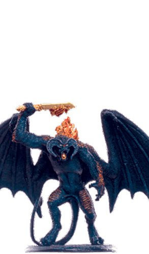 Lord of the Rings Señor de los Anillos Figurine Collection Nº 113 The Balrog 1