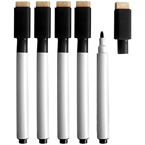 Gosear-10 piezas Pluma Marcadores / Lápices Regrabable para Tablero Blanco con Tapa de Goma de