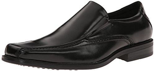 Stacy Adams Dalen Hommes Cuir Mocassin Black