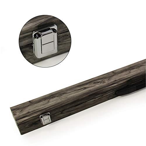 Funky Chalk Snookerqueue-Koffer, Billardkreide, 80 cm, Schwarz, 2 Stück -
